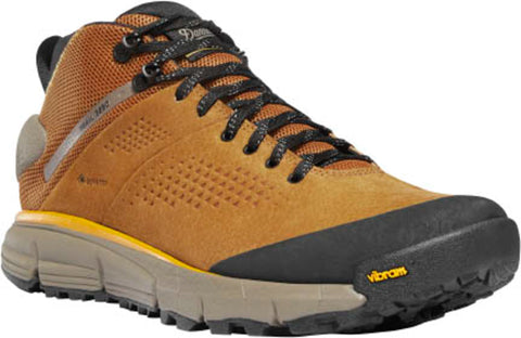 Danner Trail 2650 Mid Mens Brown/Gold Suede 4in GTX Hiking Boots