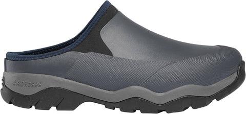 Lacrosse Alpha Muddy Mule Mens Gray Rubber 3.5mm Work Shoes