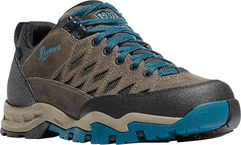 Danner Trailtrek Light Mens Gray/Blue Suede 3in WP Hiking Shoes
