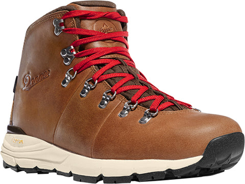 Danner Mountain 600 Mens Saddle Tan Suede 4.5in WP Hiking Boots