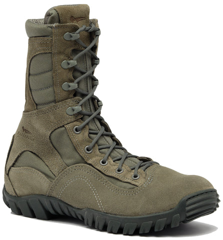 Belleville Hot Weather Hybrid Steel Toe Assault Boots 633ST Sage Leather