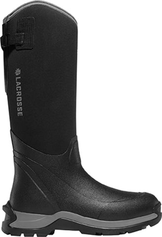 Lacrosse Alpha Thermal Mens Black Rubber 16in CT Fleece Snow Boots