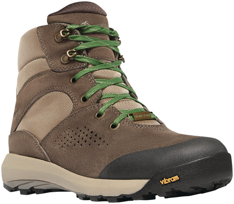 Danner Inquire Mid Womens Brown/Cactus Leather WP Hiking Boots