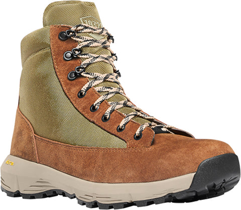 Danner Explorer 650 Mens Brown/Olive Suede 6in WP Hiking Boots