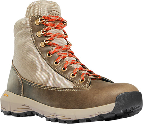 Danner Explorer 650 Womens Birch/Burnt Orange Leather 6in WP Hiking Boots