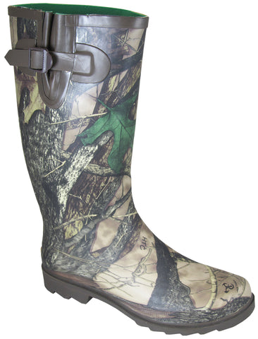 Smoky Mountain Boots Womens Camo Stalker Camo Rubber Hunting Waterproof