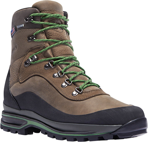 Danner Crag Rat USA Mens Brown/Green Leather 7in GTX Hiking Boots