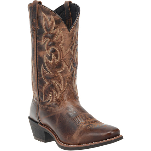 Laredo Mens Breakout Cowboy Boots Leather Rust