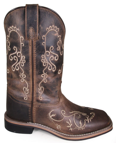 Smoky Mountain Womens Marilyn Brown Leather Cowboy Boots