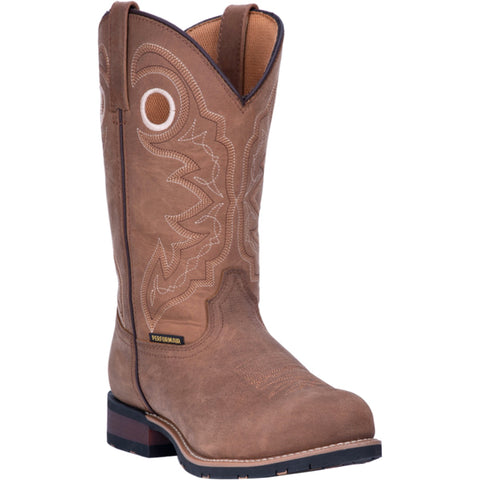Laredo Mens Tan Saguaro 11in ST Work Boots Leather