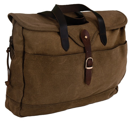 Outback Trading Co. Outback Messenger Laptop Organizer Brown 100% Cotton