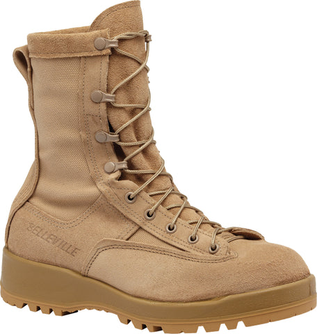 Belleville Female Waterproof Flight & Combat Boots F790V Tan Leather