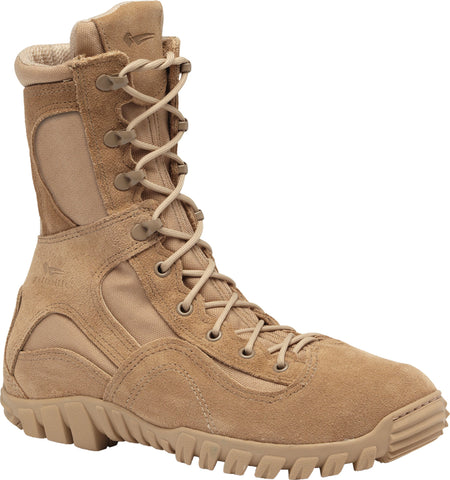 Belleville Waterproof Assault Flight Boots 793 Tan Leather