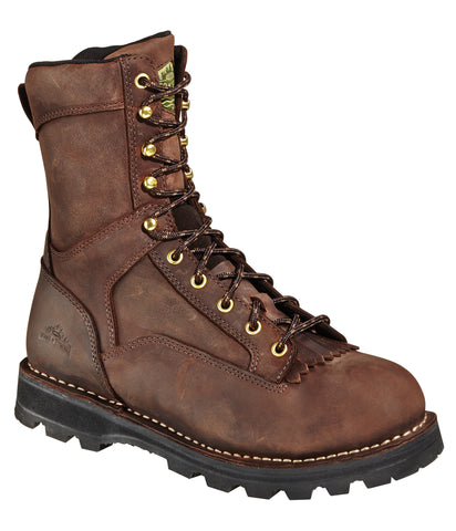 Wood N Stream Mens Instigator 9in Timber Mountain Leather Work Boots