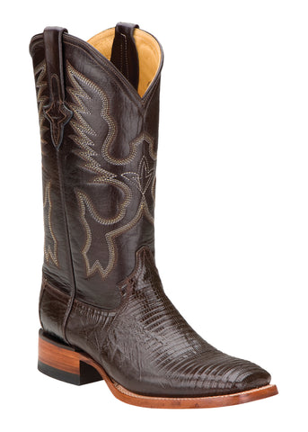 Womens Ferrini Brown Cowgirl Chocolate Teju Lizard Western S Toe Boots