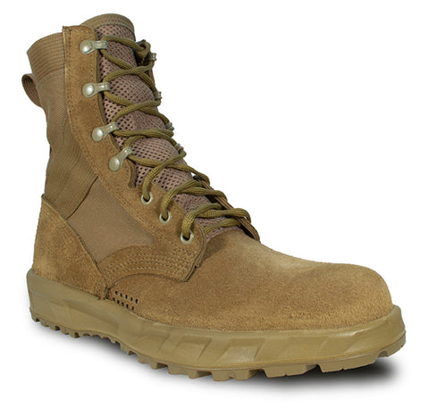 McRae Mens Coyote Leather/Nylon USA Military Combat Boots