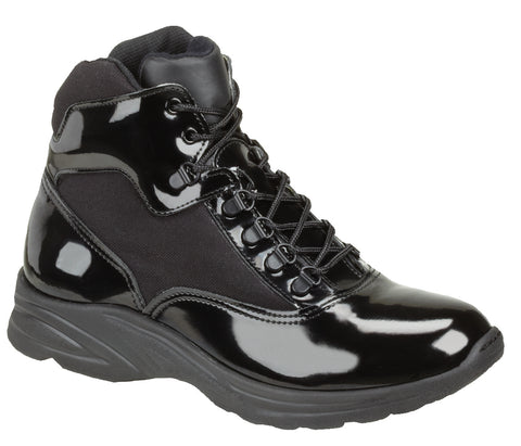 Thorogood Mens Black Poromeric Cordura Uniform Boots Cross-Trainer Plus