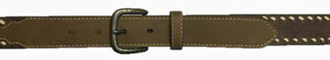 G-Bar-D Boys Brown Leather Lacing Belt