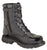 Thorogood Mens Tactical Black Leather Side Zip 8in Jump Boot