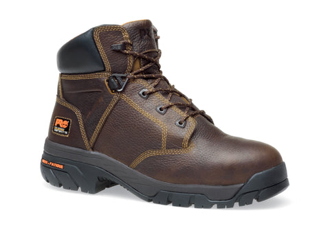 Timberland Pro 6In Helix TiTAN Mens Brown Leather Work Boots Safety Toe