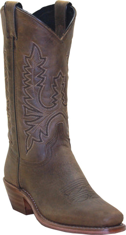 Abilene Boots Ladies Olive Brown Cowhide Cowboy Western USA