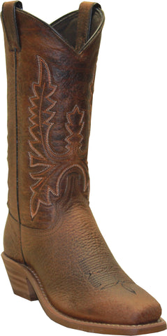 Abilene Boots Ladies Brown Bison Cowboy Western USA