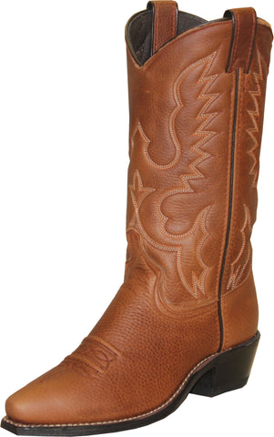 Abilene Boots Ladies Brandy Cowhide Cowboy USA Textured