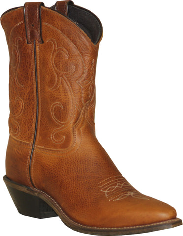 Abilene Boots Ladies Brandy Cowhide Cowboy Textured USA