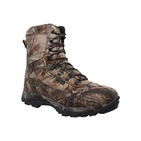 Tecs Mens Tree Camo Fabric Hunting Boots