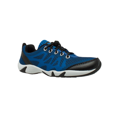 RocSoc Mens Black/Royal Blue Mesh Water Shoes