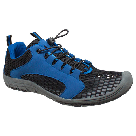 Rocsoc Mens Royal/Black Speed Lace Athletic Sneaker Mesh