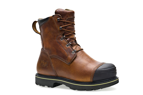 Timberland Pro 10In Warrick Smelter TiTAN Mens Brown Leather Work Boots