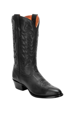 Corral Mens Black Cowhide Leather Cowboy Boots