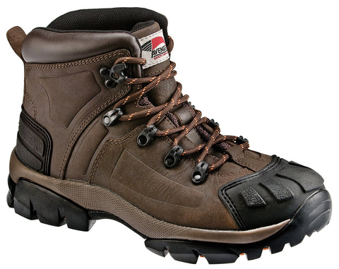 Avenger Mens Steel Toe EH Hiker W Crazy Horse Leather Safety Boots
