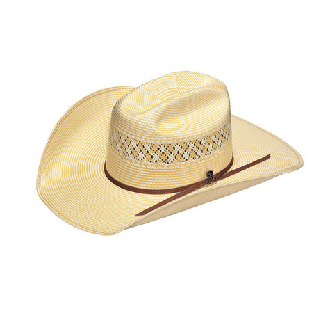 Ariat Beige Straw 20X 2-Cord Hat
