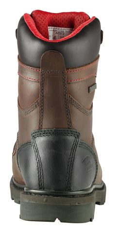 Avenger Mens Brown Leather Comp Toe 7577 1000G Hammer Work Boots