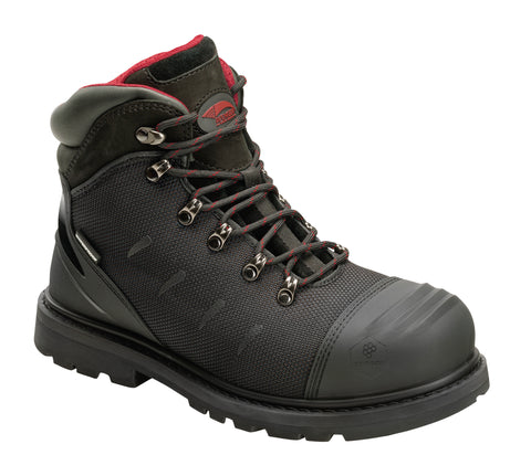 Avenger Mens Black Aramid Comp Toe 7580 Hammer AMAX 6in Work Boots