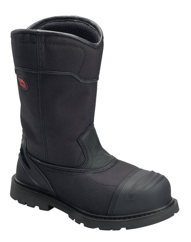 Avenger Mens Black Aramid Comp Toe 7800 Hammer AMAX Work Boots