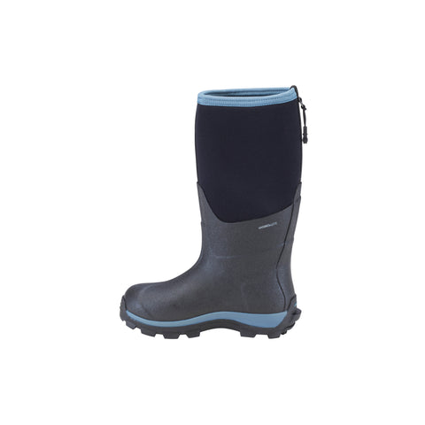 Dryshod Arctic Storm Kids Childrens Foam Black/Blue Winter Boots