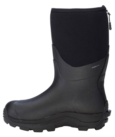Dryshod Arctic Storm Mid Mens Foam Black/Grey Winter Boots