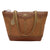 Bandana by American West Grand Junction Tote Golden Tan Faux Leather Zip
