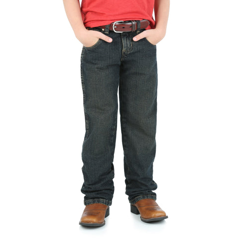 Wrangler Rolling River 100% Cotton Boys Retro Straight Jeans