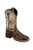 Old West Camo/Brown Youth Boys Leather Hunter Cowboy Boots