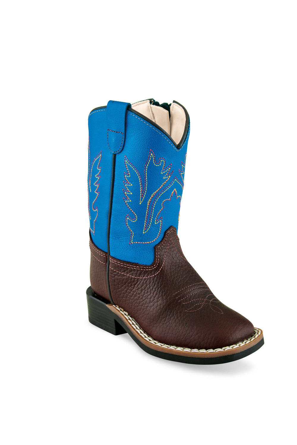 Old West Rust/Electric Blue Toddler