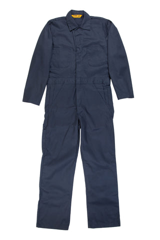 Berne Mens Navy Cotton Blend Unlined Coverall