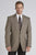 Circle S Mens Donegal Brown 100% Wool Big Plano Sportcoat Jacket Blazer