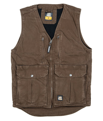 Berne Mens Bark 100% Cotton Echo One Zero Vest