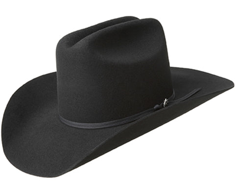 Bailey Colt Black Unisex Kids Wool Western Hat Cattleman