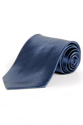 Circle S Mens Desert Blue 100% Silk Necktie Solid