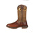Durango Mens Dk Brown Leather Saddle Western Work Boots